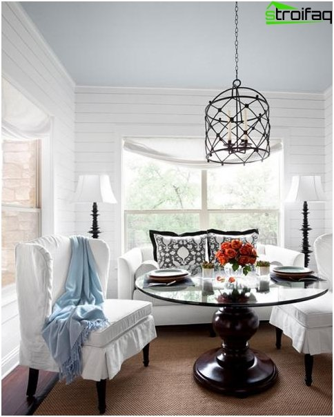 Spisebord i stuen: foto 4