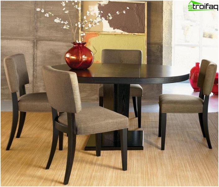 Spisebord i stuen: foto 6
