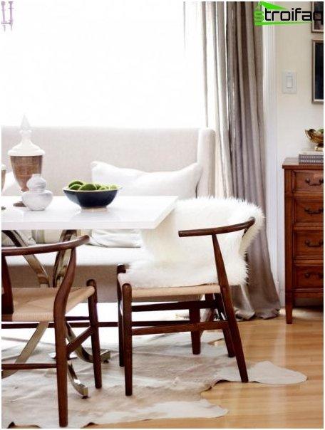 Spisebord i stuen 1