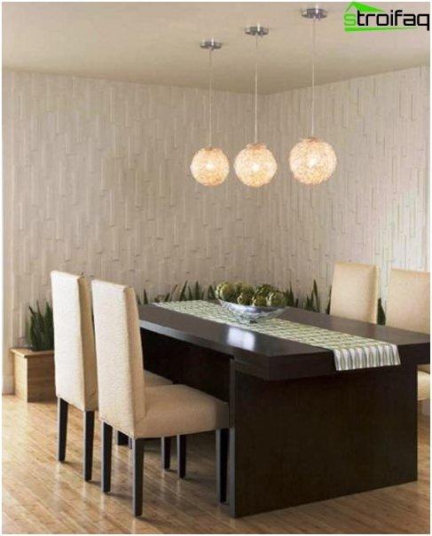 Spisebord i stuen 2