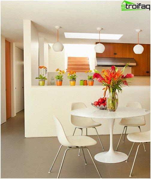 Spisebord i stuen 3