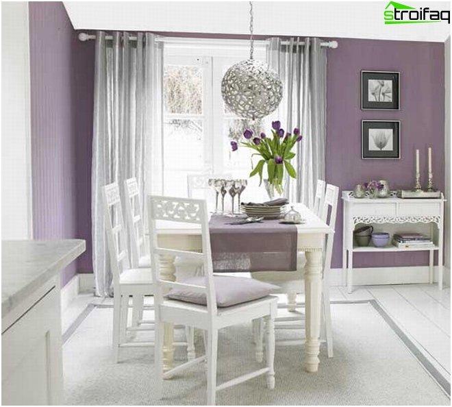 Spisebord i stuen 4