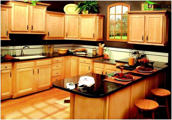 Wooden kitchen furniture - 1