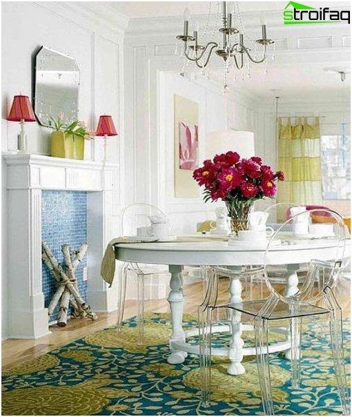 Spisebord i stuen 5