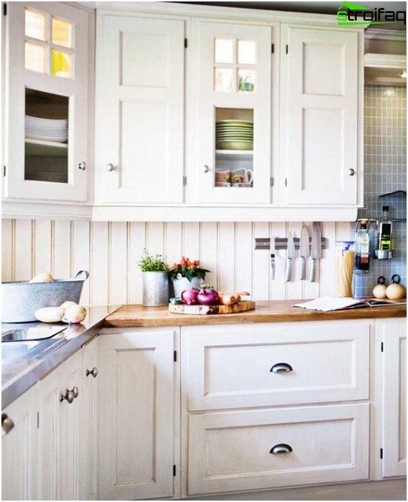 Valkoinen keittiö valmistajalta Ikea - 5