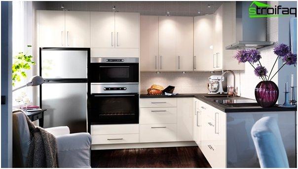Ikean keittiökalusteet (valkoinen) - 3