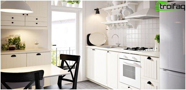 Ikean keittiökalusteet (valkoinen) - 4
