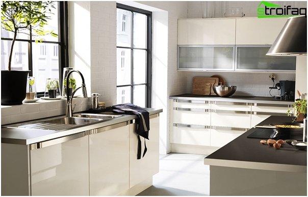 Ikean keittiökalusteet (valkoinen) - 5