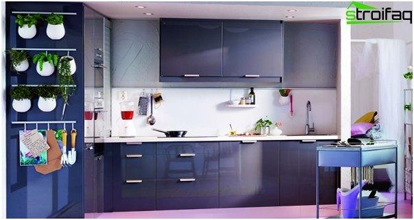 Ikean keittiökalusteet (kirkas) - 1