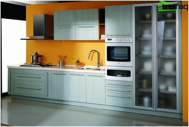 Furniture for kitchen from plastic - 1
