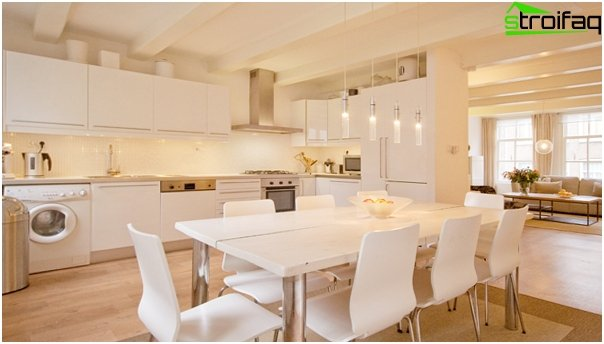 Kitchen furniture (dining table) - 1