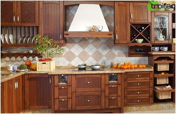 Puinen keittiö valmistajalta Ikea - 3