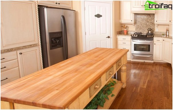 Kitchen furniture (cutting table) - 1