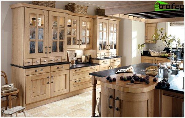 Ikean keittiökalusteet (puinen) - 3