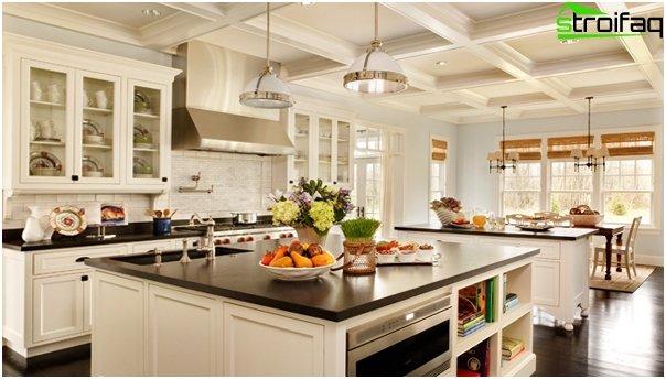 Møbler til køkkenet (ø-bord) –2