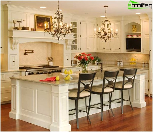 Furniture for the kitchen (island table) - 3