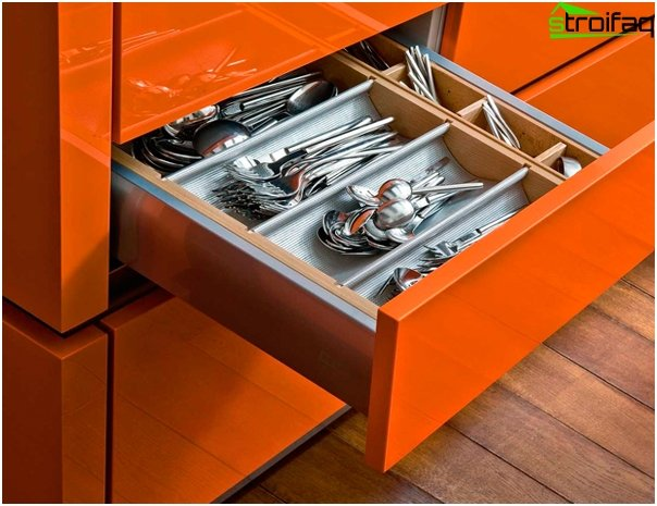 Kitchen furniture (cabinets and drawers) - 3
