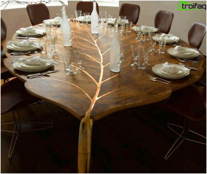 Den originale form af spisebordet - 3
