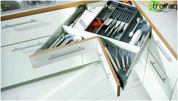 Kitchen furniture (cabinets and drawers) - 1