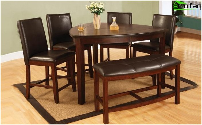 Den originale form af spisebordet - 5