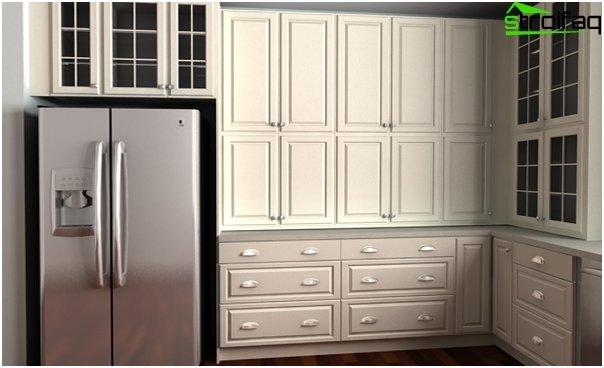 Ikea - 1: n keittiökalusteiden ovet