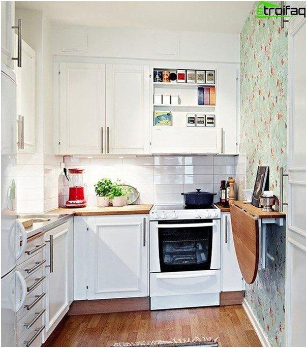 Møbler til et lille køkken - 2