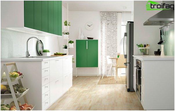 Ikea - 1: n keittiökalusteiden etupaneelit