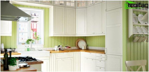 Ikea - 2: n keittiökalusteiden etupaneelit