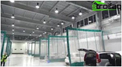 إضاءة LED في الصناعة