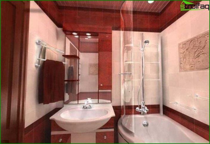 Приклад ремонту ванної кімнати 5