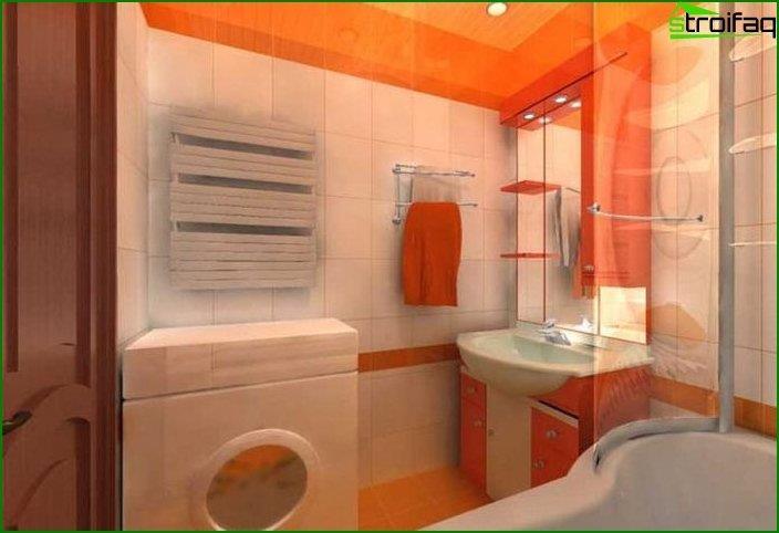 Приклад ремонту ванної кімнати 7