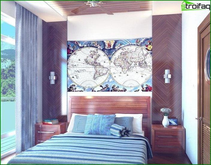 Interior al estilo del minimalismo mediterráneo 2