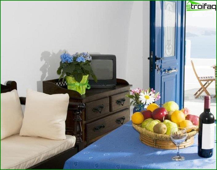Interior al estilo del minimalismo mediterráneo 5