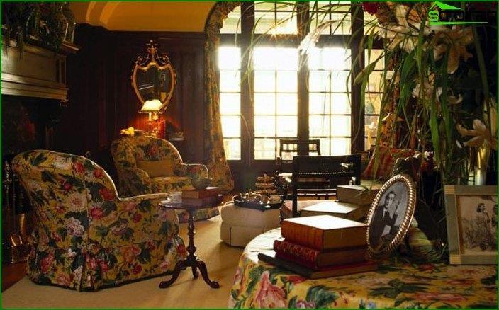 Interior en estilo retro vintage 4