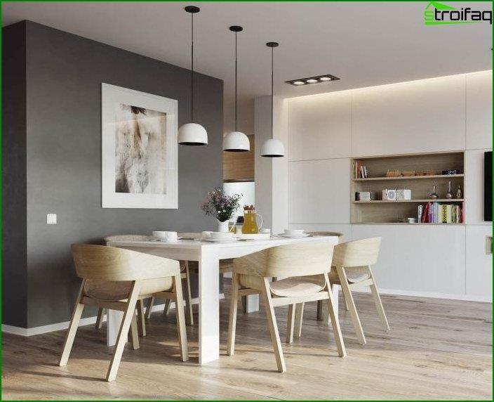Interior en un estilo moderno 1
