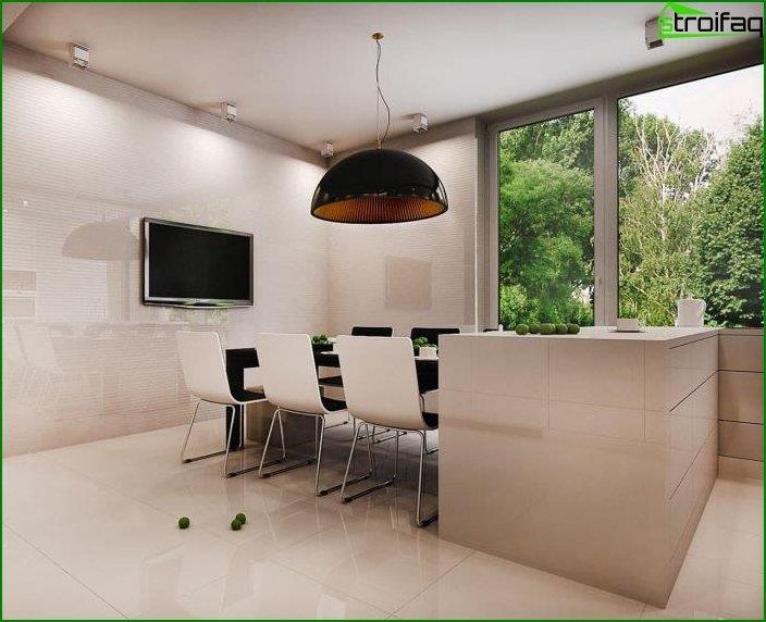 Interior en un estilo moderno 2