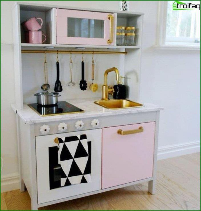 Kitchenette en el interior 1