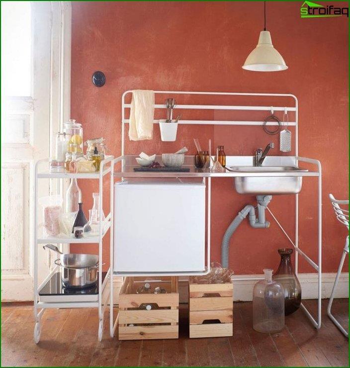 Kitchenette en el interior 5