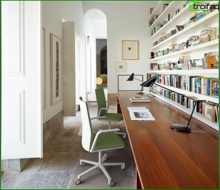 Mesa de ordenador en el interior 2
