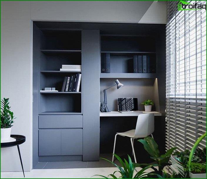 Mesa de ordenador en el interior 3