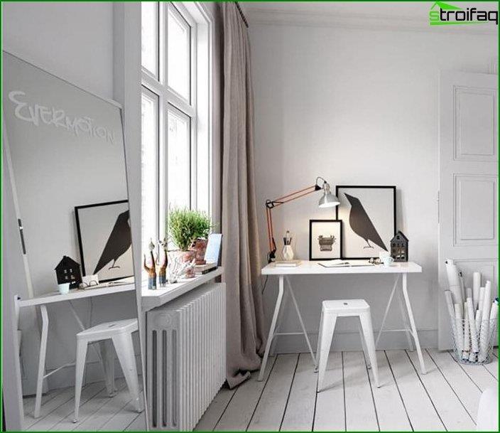 Mesa de ordenador en el interior 4