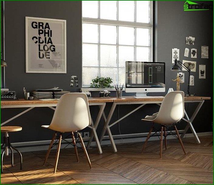 Mesa de ordenador en el interior 5