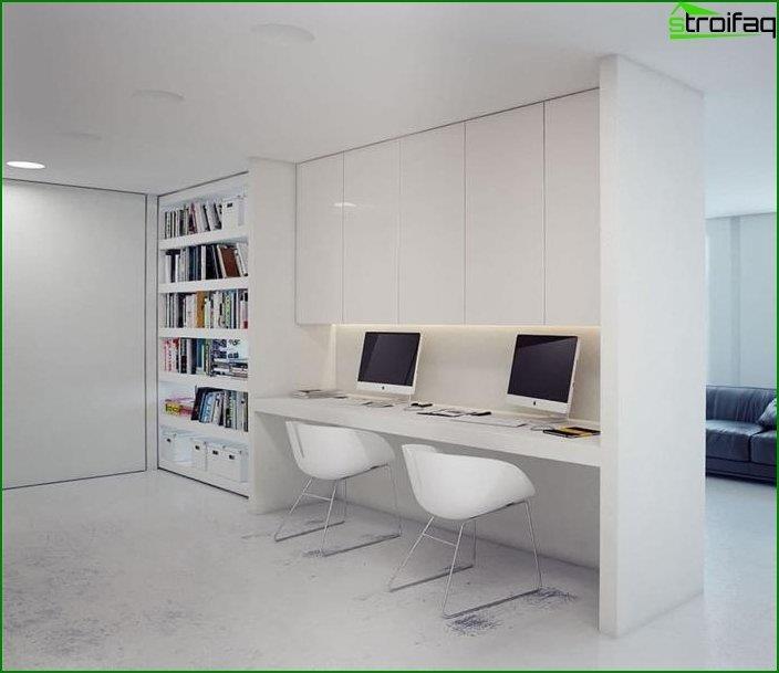 Mesa de ordenador en el interior 7