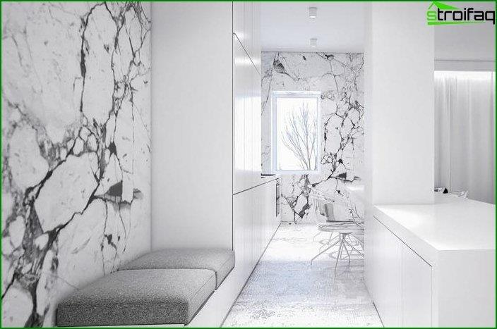 Diseño de paredes en el interior 1