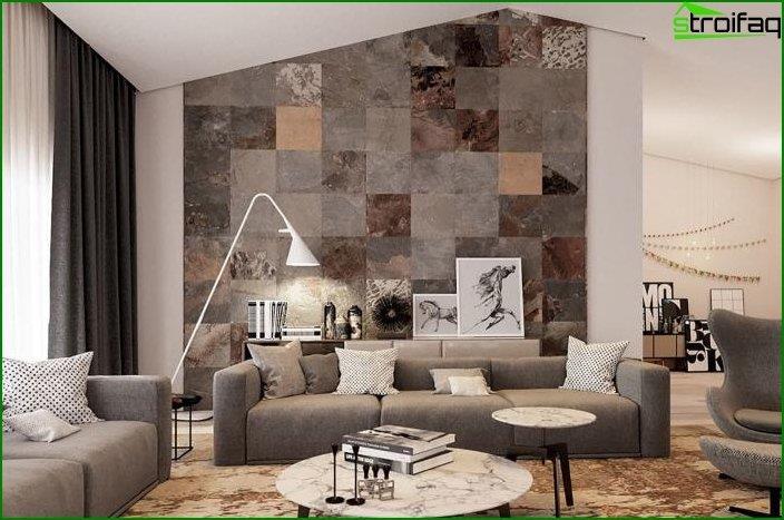 Diseño de paredes en el interior 2