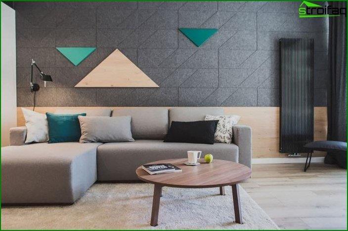 Diseño de paredes en el interior 6