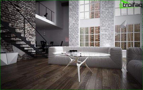 Loft style wallpaper