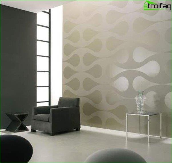 Papel tapiz de diseño para el salón