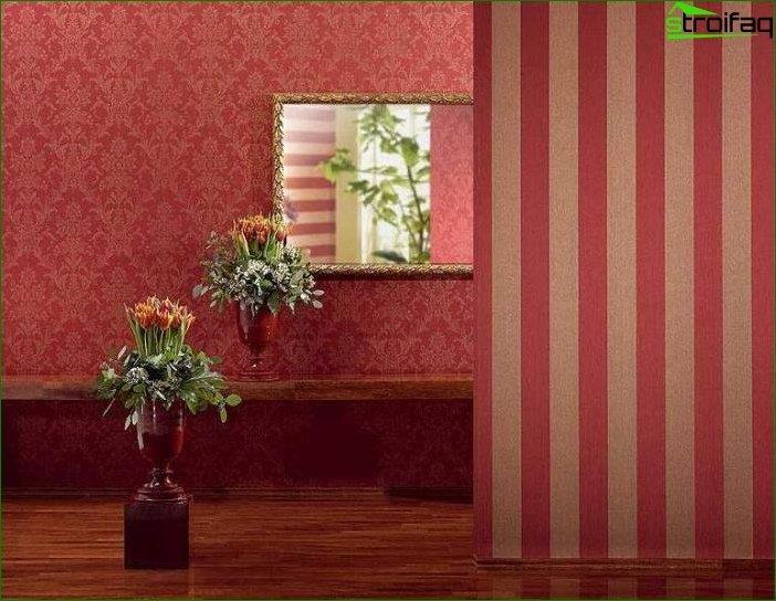 Diseño de papel tapiz para el pabellón 4