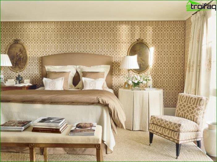 Diseño de papel tapiz fotográfico para el salón